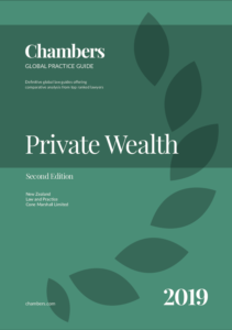 Chambers Private Wealth Second Edition Cone Marshall Article 2019a
